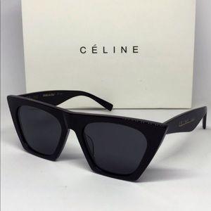 Celine edge sunglasses, black, CL41468/S